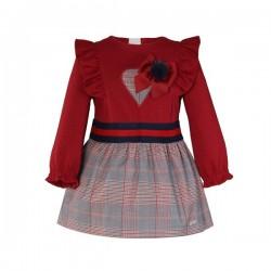 Miranda Vestido niña Rojo...