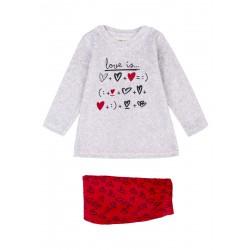 Losan Pijama niña tundosado P002AL