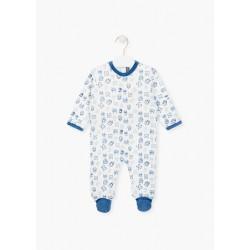 Losan Pijama con estampado de monstruos bebé niño P001AL-2-582