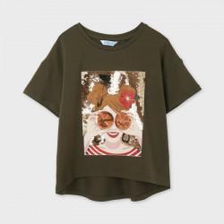 Mayoral Camiseta Ecofriends gráfica 6021