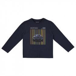 Mayoral Camiseta manga larga serigrafía coche 4081