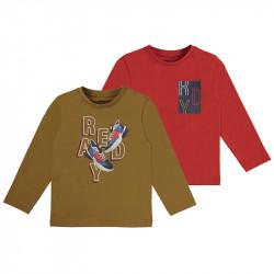 Mayoral Set 2 camisetas ECOFRIENDS manga larga ready 4087