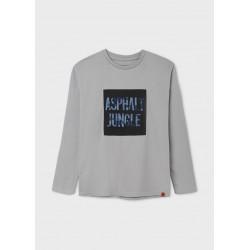 Mayoral Camiseta manga larga bordado camuflaje chico 7011