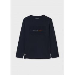 Mayoral Camiseta manga larga ECOFRIENDS relieve chico 7012