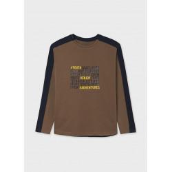 Mayoral Camiseta manga larga ECOFRIENDS contrastes chico 7015