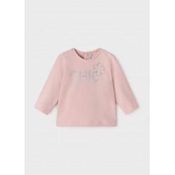 Mayoral Camiseta ECOFRIENDS básica manga larga bebé 116