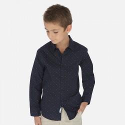Mayoral Camisa manga larga estampada niño 6153