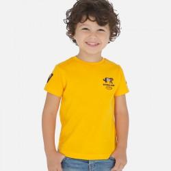 Mayoral Camiseta manga corta bordados niño 3051