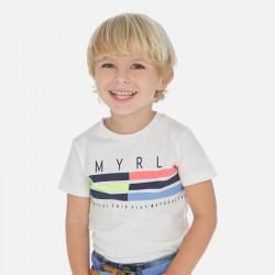 Mayoral Camiseta manga corta banda niño 3053