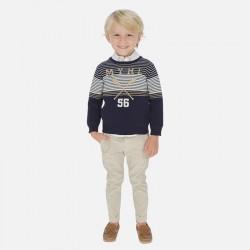 Mayoral Pantalón chino largo lino tailoring niño 3528